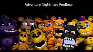 getlinkyoutube.com-II FNAF SONG II All Adventure Freddy,s Voice,es