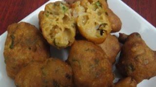 getlinkyoutube.com-Wheat Bonda | கோதுமை போன்டா | Tea Time Snacks | Recipe | Gowri Samayalarai