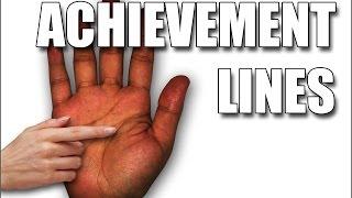 getlinkyoutube.com-ACHIEVEMENT LINES: Female Palm Reading Palmistry #115