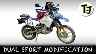 getlinkyoutube.com-Dual Sport Modifications for Adventure Motorcycling