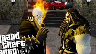 getlinkyoutube.com-Grand Theft Auto IV - Ghost Rider vs Lobo