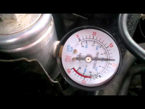 Проверка давления топлива Rover 200