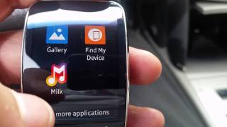 getlinkyoutube.com-Samsung Galaxy Gear s Milk app