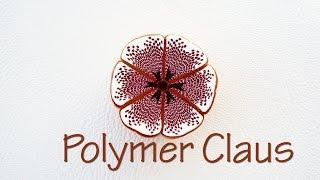 Mosaic millefiori can-Polymer clay tutorial eng sub (Fimo tutorial)