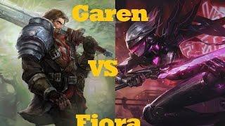 getlinkyoutube.com-Garen VS Fiora - League of Legends Guide Commentary