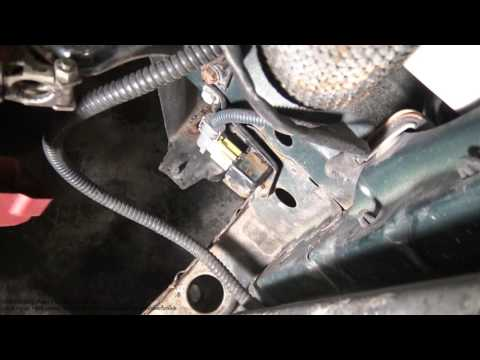 Where are Toyota car front airbag sensors locations