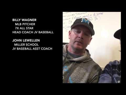 MLB pitcher Billy Wagner testimonial working with Doug Bernier teaching fielding fundamentals