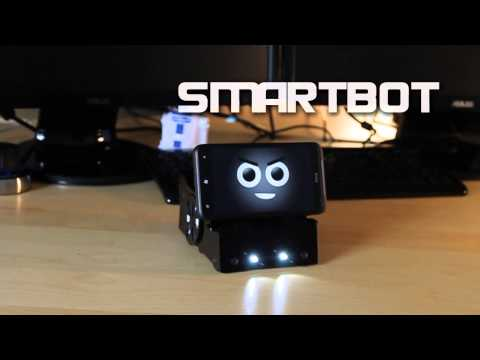SmartBot turns your phone into a programmable robot