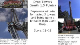 getlinkyoutube.com-Six Flags Over Texas vs. Six Flags Great America