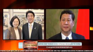 JAPAN AND TAIWAN SEND STRONG MESSAGE TO CHINA