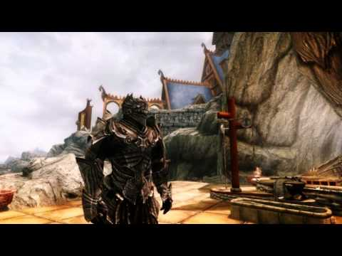 Skyrim Black Knight Armor Set