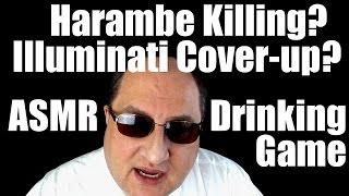 getlinkyoutube.com-Illuminati Harambe ASMR Drinking Game