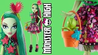 getlinkyoutube.com-Venus McFlytrap in Party Ghouls Monster High Review
