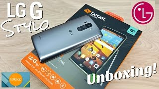 "getlinkyoutube.com-LG G Stylo - [Hands On] - LG G4 Alternative - Boost Mobile - 1GB/8GB - 5.7"" HD - 4G LTE - 3000mAh"
