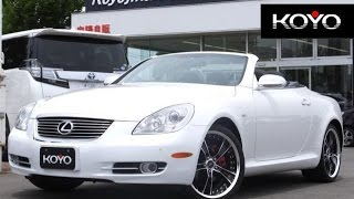 getlinkyoutube.com-◆成約車ご紹介◆H20 レクサスSC430◆向陽自販