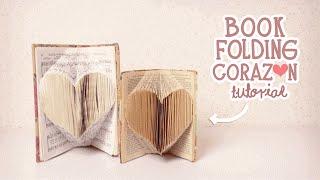 getlinkyoutube.com-nerDIY: BOOK FOLDING/DOBLAR LIBROS CORAZÓN ¡SÚPER FACIL!