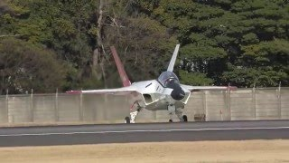 getlinkyoutube.com-【3/17速報!!】 ATD-X・X-2、中速タキシング実施!! 【ステルス実証機】 Japanese stealth plane