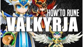 getlinkyoutube.com-SUMMONERS WAR : How to Rune Valkyrja (Katerina, Camilla, Vanessa, Trinity, Akroma)
