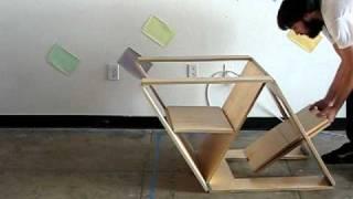 getlinkyoutube.com-Folding Chair and Ottoman
