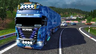 getlinkyoutube.com-Euro Truck Simulator 2 - Scania R620 Combo Pack Blue