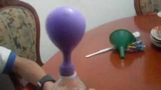 getlinkyoutube.com-globo ccon bicarbonato y  vinagre