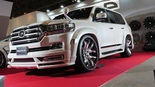 getlinkyoutube.com-WALD Toyota Land Cruiser ZX - 2016 Tokyo Auto Salon