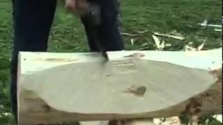 getlinkyoutube.com-Изготовление топора и строительство лесного дома