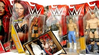 Ringside Collectibles WWE Series 59 Package Unboxing (bonus DC Toys from Amazon)!!