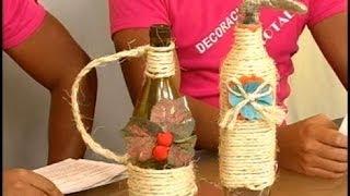 getlinkyoutube.com-Botellas decoradas - Programa 10 -  parte 2/3