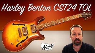 getlinkyoutube.com-Guitar Demo - Harley Benton CST-24TOL Tree of Life Semihollow PRS Stylings