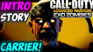 getlinkyoutube.com-COD Advanced Warfare EXO-ZOMBIES CARRIER ENTIRE STORYLINE Intro Cutscene  DLC 3 Supremacy Gameplay