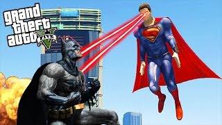 getlinkyoutube.com-GTA 5 Mods - SUPERMAN VS BATMAN (GTA 5 Mods Gameplay)