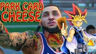 getlinkyoutube.com-NBA 2K16 MY PARK - PARK CARD CHEESE | I GOT A BURNER!!