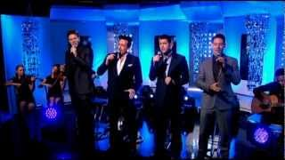 getlinkyoutube.com-Il Divo - Can't Help Falling in Love (Live This Morning)