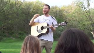 "Mike Posner  and Matt Greenberg ~ ""I Took a Pill in Ibiza"" Ann Arbor 050915"