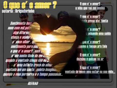 O que é o amor - Grupo da cor do pecado.wmv