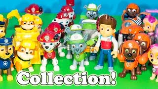 getlinkyoutube.com-PAW PATROL Nickelodeon Engineering Family Entire Paw Patrol Toys Collection Video