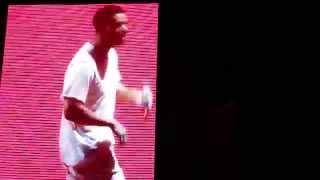 """getlinkyoutube.com-Drake Dancing to Chris Brown's Song """"Loyal"""""""