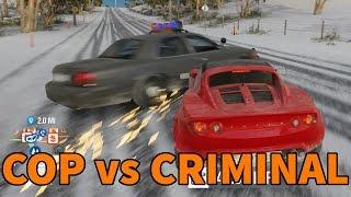 getlinkyoutube.com-Forza Horizon 3 | The Return of FHPD! | SNOWY MOUNTAIN POLICE CHASE!