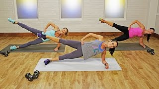 getlinkyoutube.com-15-Minute Full-Body Workout: Fast and Furious Calorie Burn