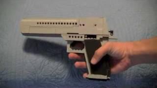 getlinkyoutube.com-Lego Desert Eagle .50 Cal (WORKING)