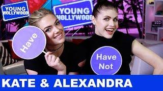 Kate Upton & Alexandra Daddario: Never Have I Ever!