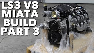 getlinkyoutube.com-LS3 V8 Miata Build - Project Thunderbolt Part 3