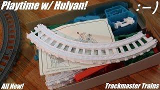 getlinkyoutube.com-Thomas & Friends: Maron Bridge, Tunnel, Ice & Snow Trackmaster Expansion Packs