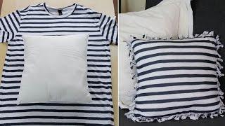 getlinkyoutube.com-3 formas de reciclar camisetas sin coser