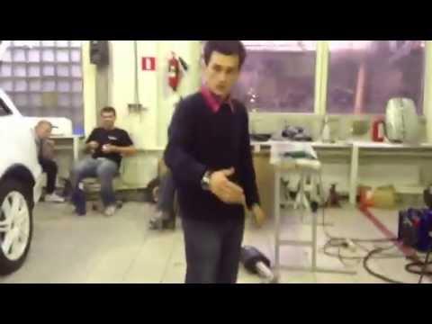 Видео с процесса создания выхлопа :)
