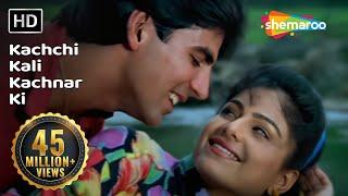getlinkyoutube.com-Kachchi Kali Kachnar Ki - Akshay Kumar - Ayesha Jhulka - Waqt Hamara Hai - Bollywood Songs - Asha