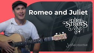 getlinkyoutube.com-How to play Romeo And Juliet - Dire Straits (Guitar Lesson BS-923)