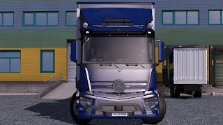 getlinkyoutube.com-Euro Truck Simulator 2 - Mercedes Benz Antos Tandem