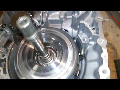 Начало разбора АКПП Nissan (v3)